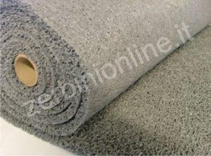 rotolo tappeto ricciolo drenante colore grigio, zerbini personalizzati, tappeti su misura, zerbino personalizzato, napoli, tappeti personalizzati.