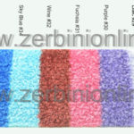 cartella colore tappeti asciugapasso