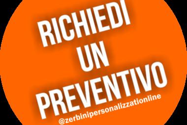 preventivo per zerbino personalizzato